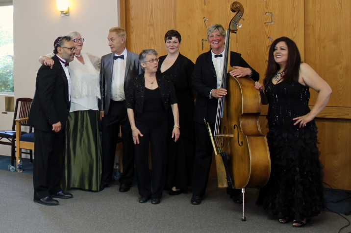 With ensemble performing a concert of Broadway music by Jewish composers