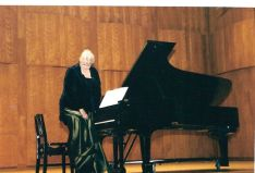 Concert performance - Longy School of Music, MA